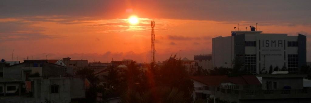 Coucher de soleil Cotonou