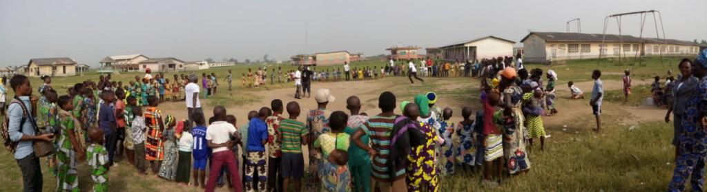 Enfants village ganvié