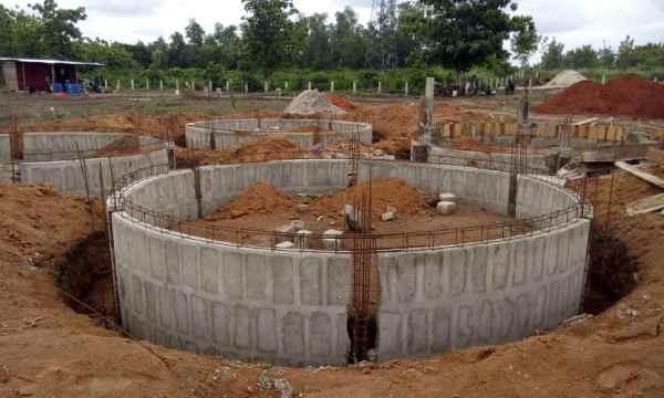 Murs fondations cases