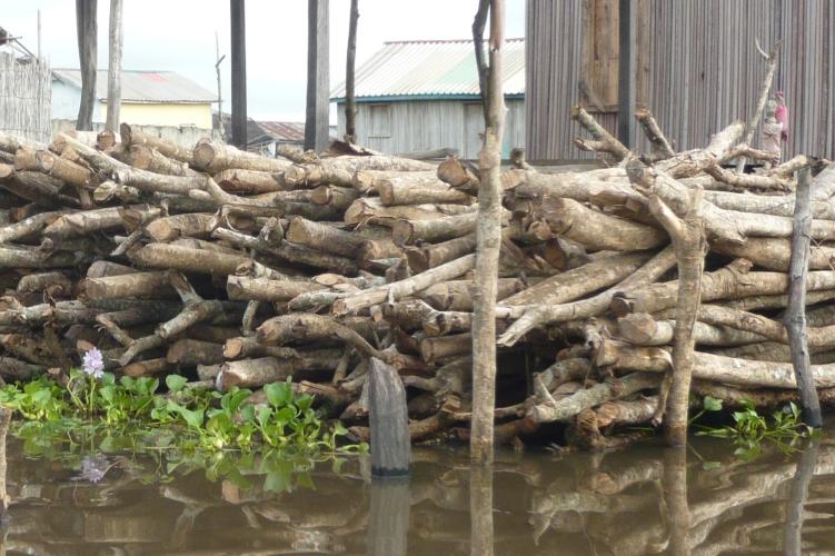 Stockage de bois
