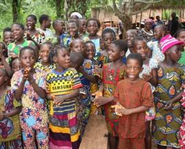 Le pagne : les couleurs de l'Afrique