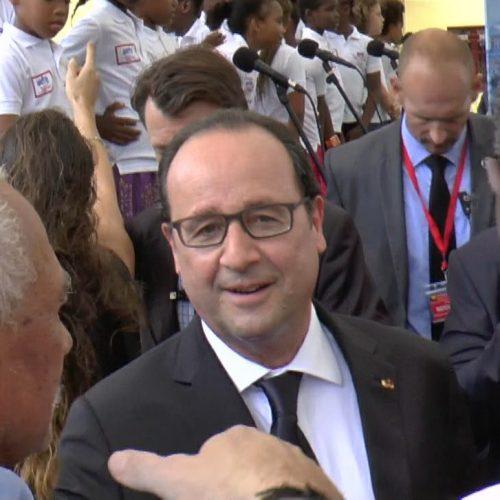 François Hollande Cotonou