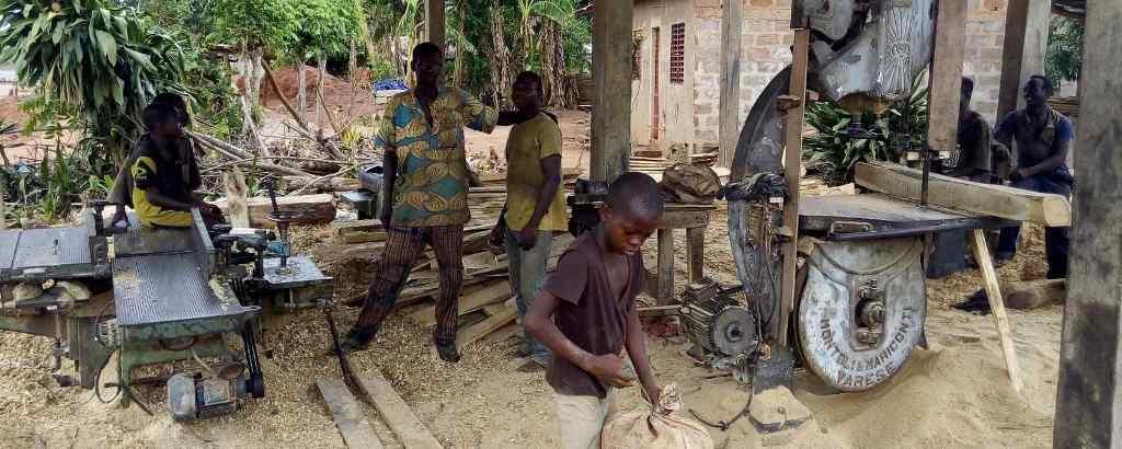 Menuiserie artisanale Bénin