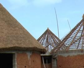 La toiture des cases