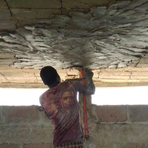 Enduit plafond