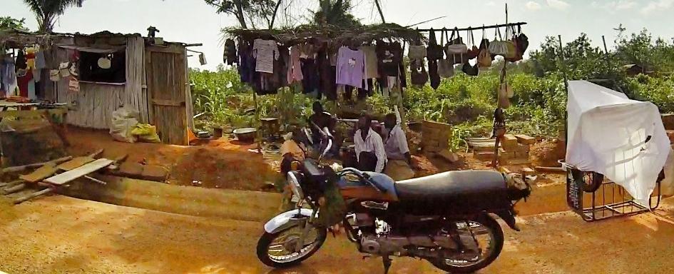 Route vers Cotonou