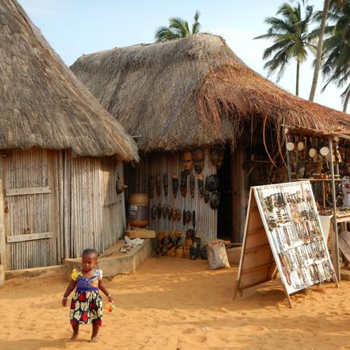Commerce plage Ouidah