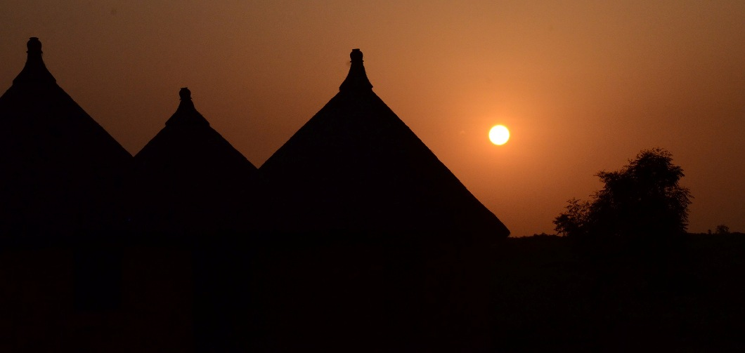 Coucher soleil Afrique