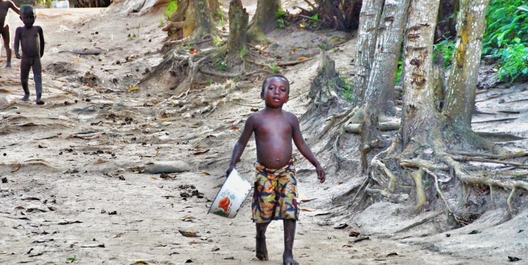 Enfants Sitatunga