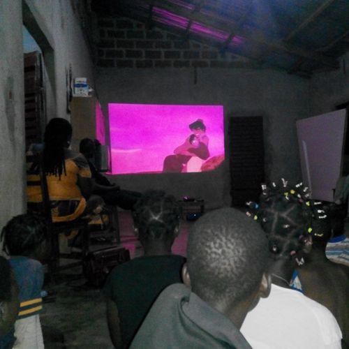 Cinéma orphelinat Afrique