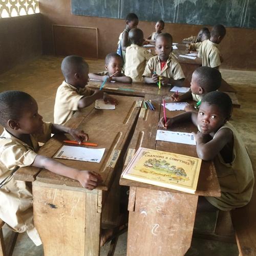 Classe primaire Bénin