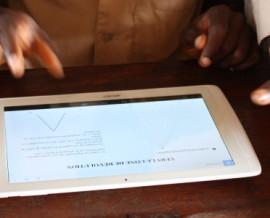 Expérience numérique dans un collège de brousse