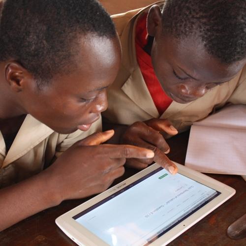 Tablette numérique Afrique