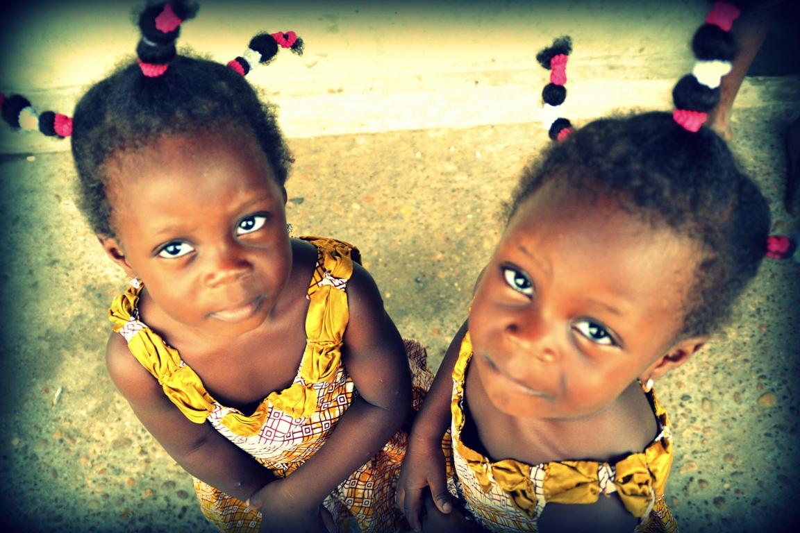 Fillettes Afrique
