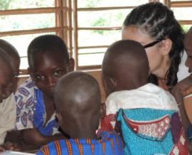 Le voyage humanitaire Afrique de Sandrine