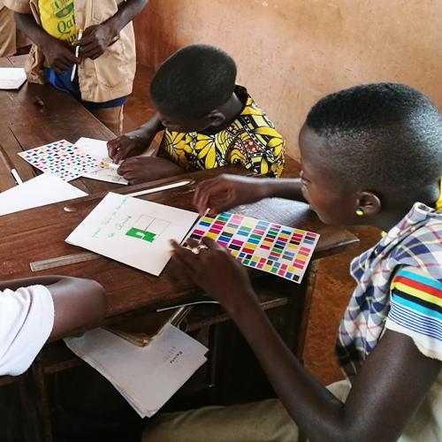 Mission humanitaire atelier enfants Afrique