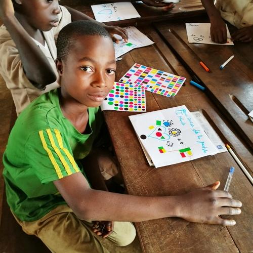 Mission humanitaire - Dessin enfant Afrique