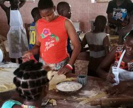 Une boulangerie à l'orphelinat