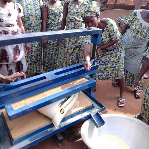 Presse à manioc