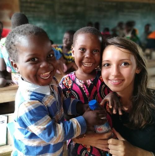 Typhaine enfants Bénin