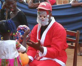 La fête de Noël à l'orphelinat