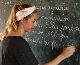 Julia, maîtresse d'école au Bénin