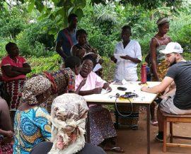 Une mission santé pour les villageois