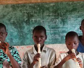 Emilie, professeur des écoles au Bénin