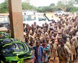 Des fournitures scolaires pour 150 écoliers