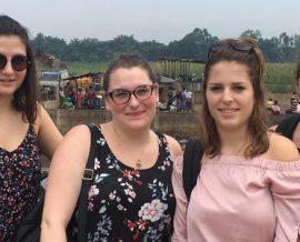 Etudiantes en stage au Bénin