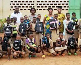 Distribution de fournitures scolaires pour la rentrée 2019
