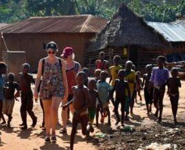 Huit femmes en voyage solidaire au Bénin