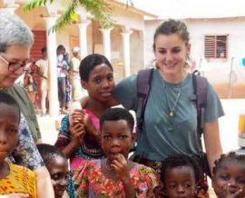 Anne-Marie rêvait de rencontrer l'Afrique