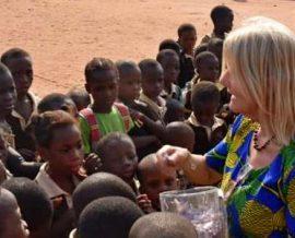 Troisième voyage humanitaire de Fabienne au Bénin